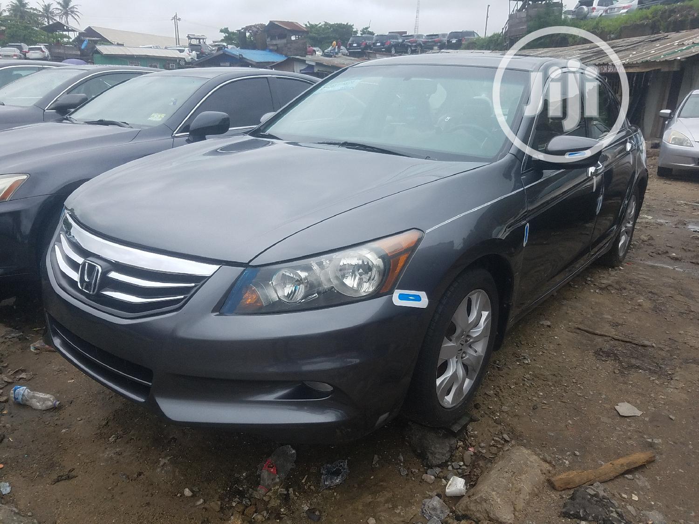 Honda Accord 2008 Gray | Cars for sale in Apapa, Lagos State, Nigeria