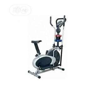 Orbitrack Bike With Dumbbell for Exercise | Sports Equipment for sale in Lagos State, Surulere