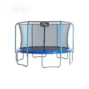 12ft Trampoline With Side Net Guard   Sports Equipment for sale in Lagos State, Surulere