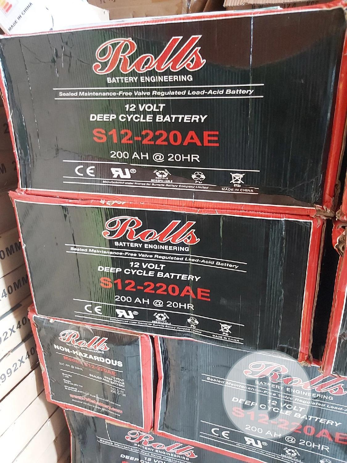 Canadian Solar Battery 12v 200AH | Solar Energy for sale in Lekki, Lagos State, Nigeria