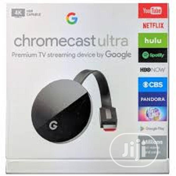Google Chromecast Ultra | Accessories & Supplies for Electronics for sale in Ikeja, Lagos State, Nigeria