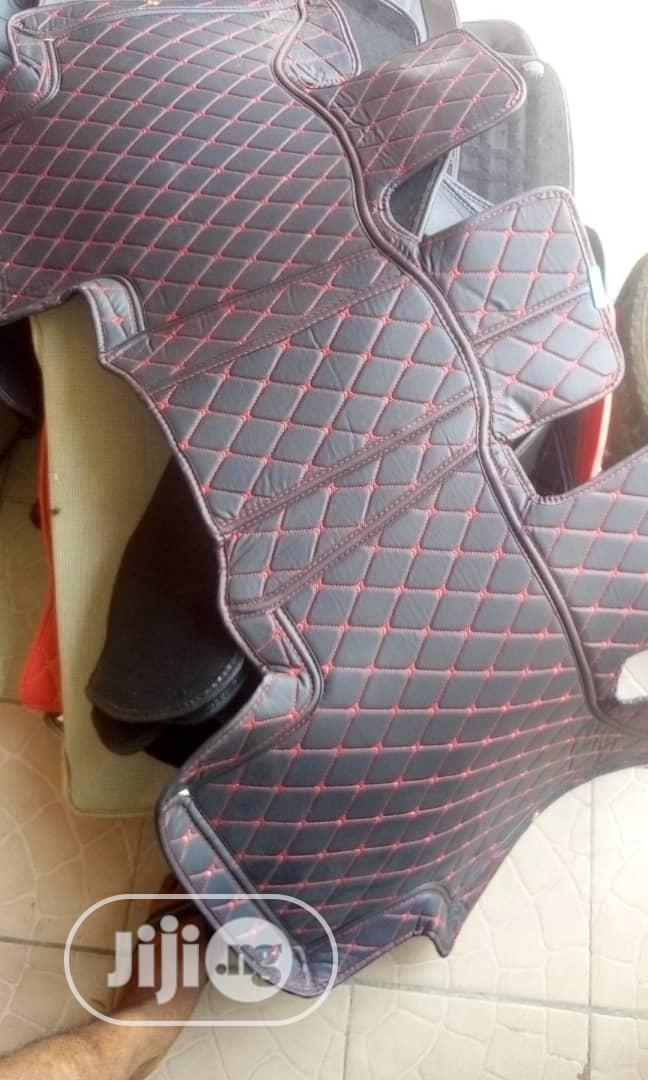 Archive: All Cover Foot Mat Tiles, Red And Black With White And Black