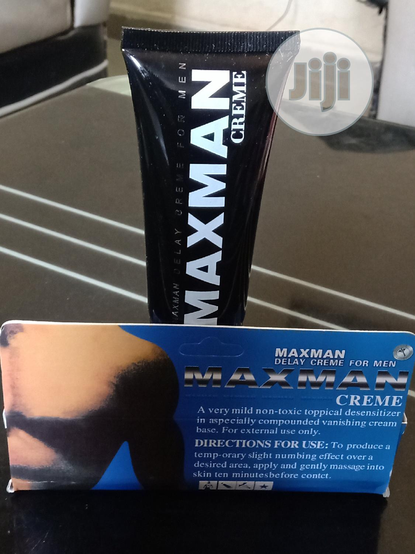 Archive: MAXMAN Delay Creme For Men