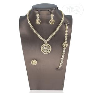 4 Piece Bridal Set Accessories | Jewelry for sale in Lagos State, Ajah