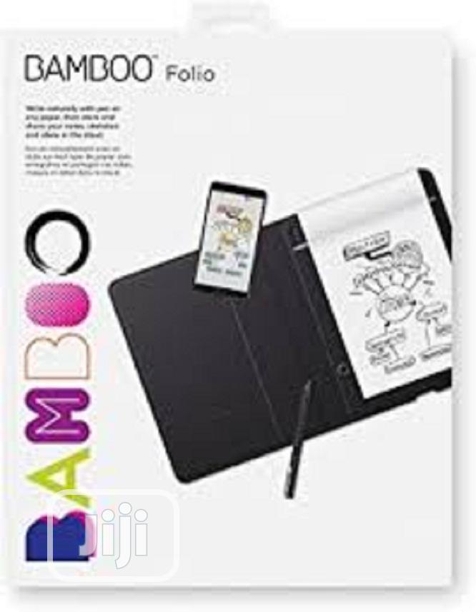 Wacom Bamboo Folio Digital Notebook Smartpad