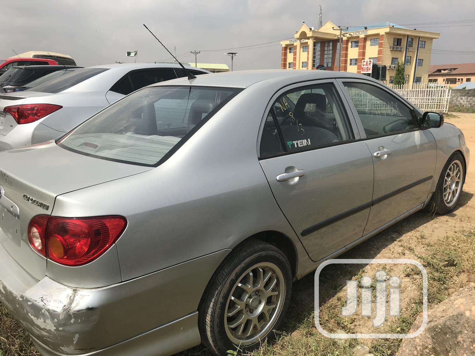 Archive: Toyota Corolla 2004 1.4 Silver