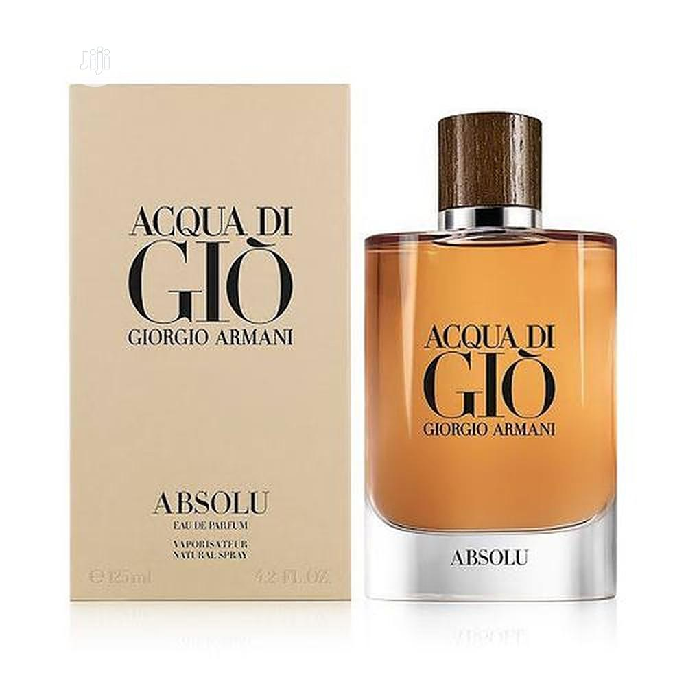 Giorgio Armani Men's Spray 125 Ml