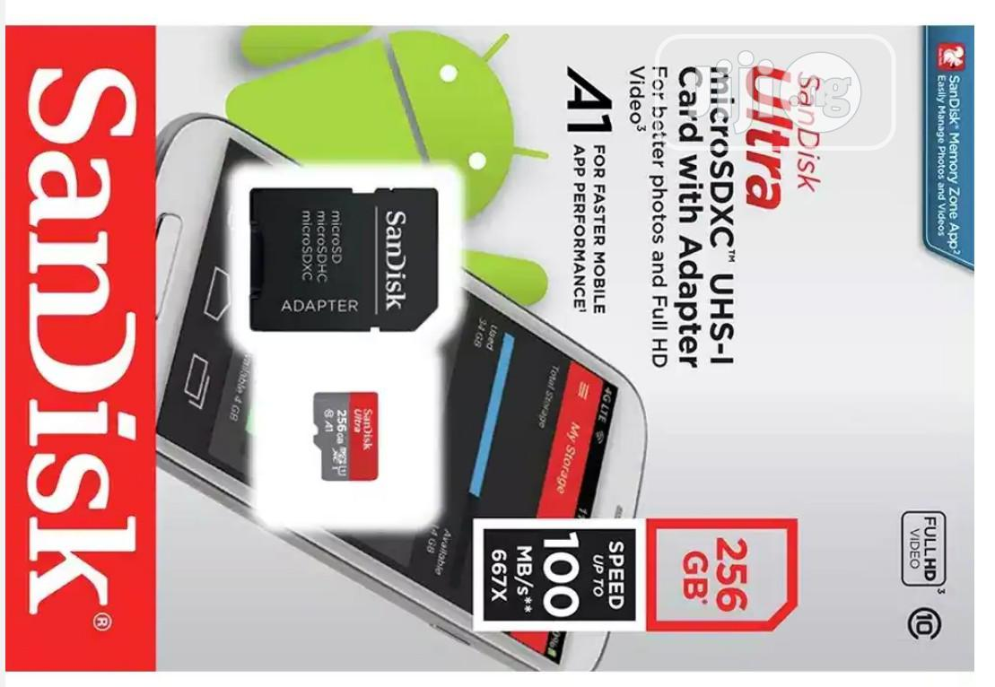 256GB Sandisk Ultra Micro SD Card | Accessories for Mobile Phones & Tablets for sale in Ikeja, Lagos State, Nigeria