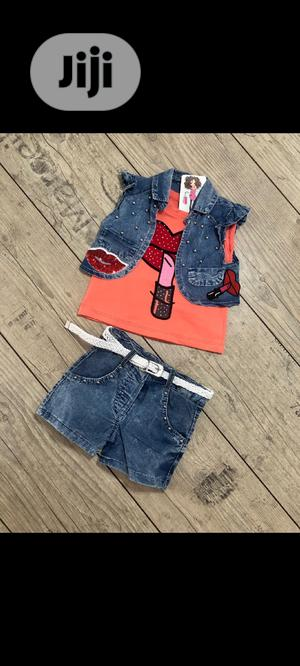 Trendy Kids Short and Top. | Children's Clothing for sale in Lagos State, Isolo