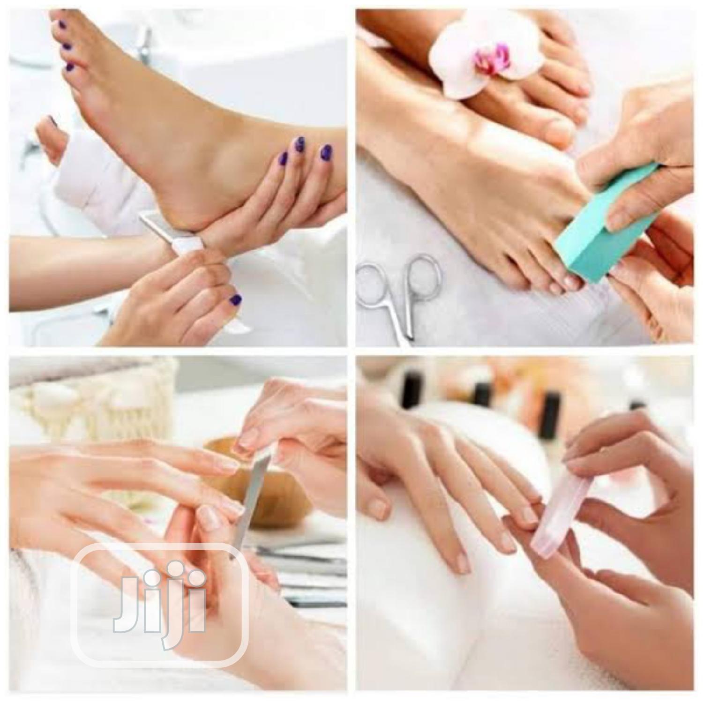 Pedicure And Manicure Treatment