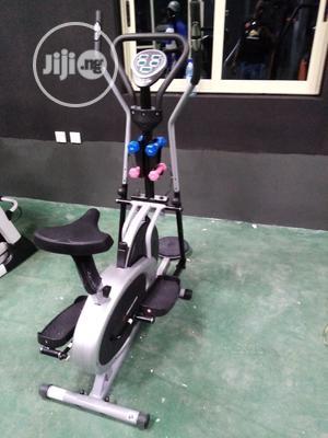 Orbitrak Elliptical Bike With Twister and Dumbells | Sports Equipment for sale in Lagos State, Lekki