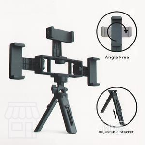 K211 Multi Phone Live Tripod Stand 3 Phone Holder Broadcast | Accessories & Supplies for Electronics for sale in Lagos State, Ikeja