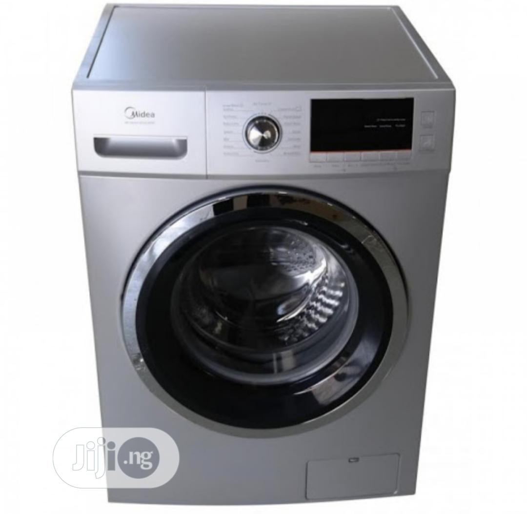 Midea Front Load Washing Machine 8kg(Washer Dryer(Crown S)