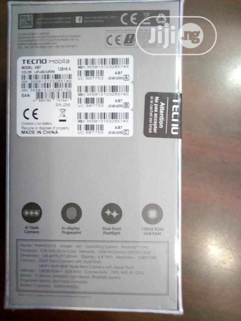 New Tecno Phantom 9 128 GB | Mobile Phones for sale in Victoria Island, Lagos State, Nigeria