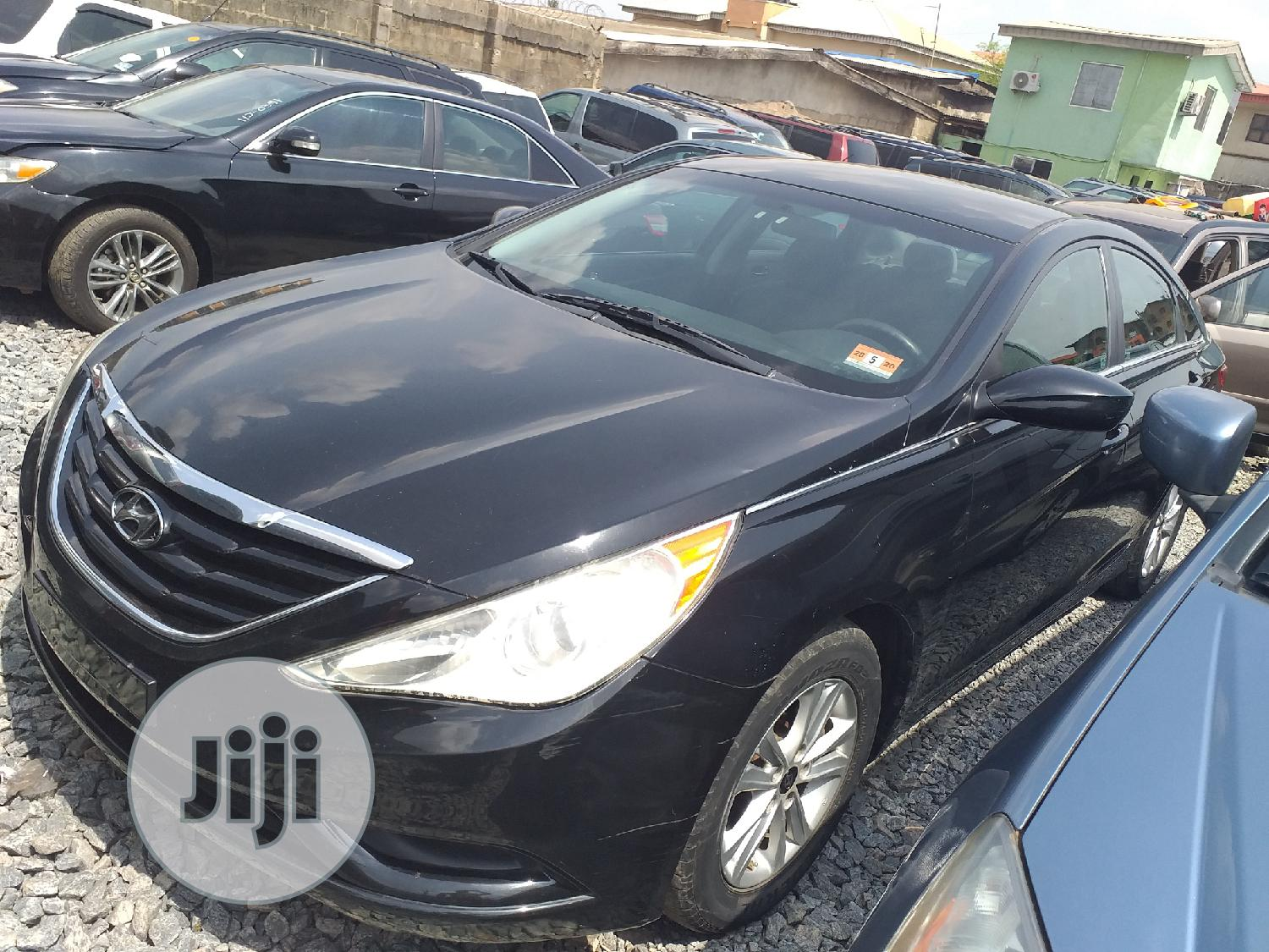 Hyundai Sonata 2012 Black | Cars for sale in Ifako-Ijaiye, Lagos State, Nigeria