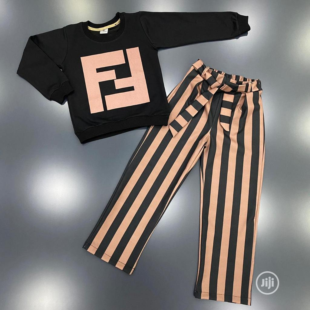 New Fendi Two Piece | Children's Clothing for sale in Alimosho, Lagos State, Nigeria