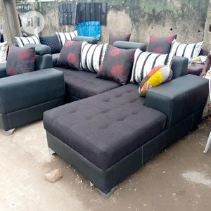Well Furnished L-Shape Chair   Furniture for sale in Lagos State, Agege