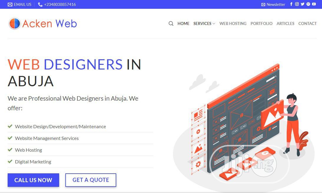 Archive: Website Designer and Developer