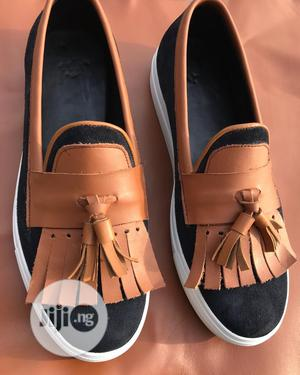 White Canvas Loafers   Shoes for sale in Lagos State, Kosofe