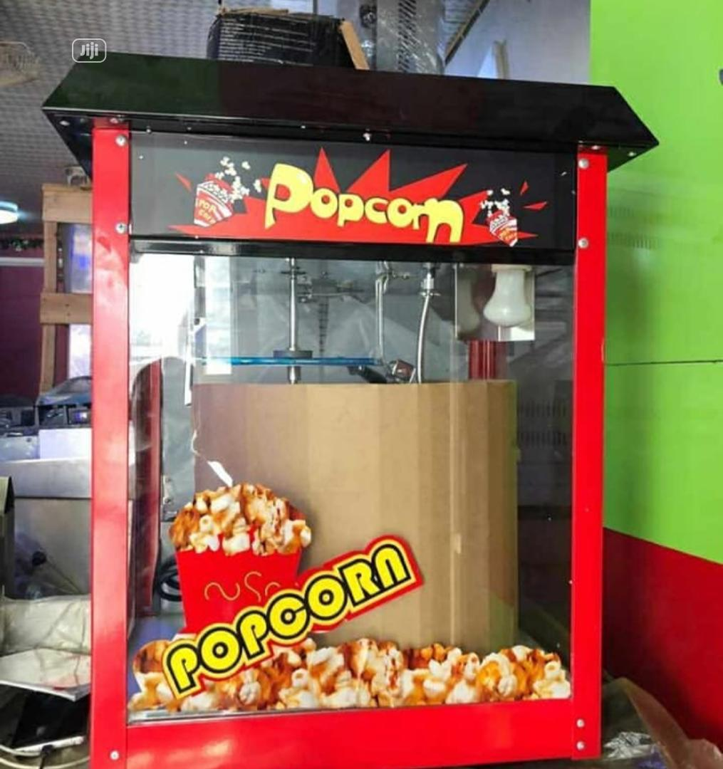 Archive: Red And Black Popcorn Machine