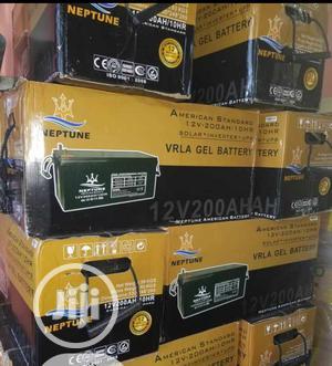 Neptune Solar Battery 12v/200ahs   Solar Energy for sale in Lagos State, Ojo