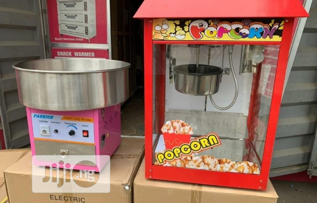 Archive: Candy Floss Machine And Popcorn Machine