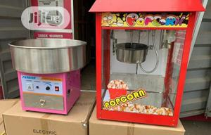 Candy Floss Machine And Popcorn Machine | Restaurant & Catering Equipment for sale in Lagos State, Ojo