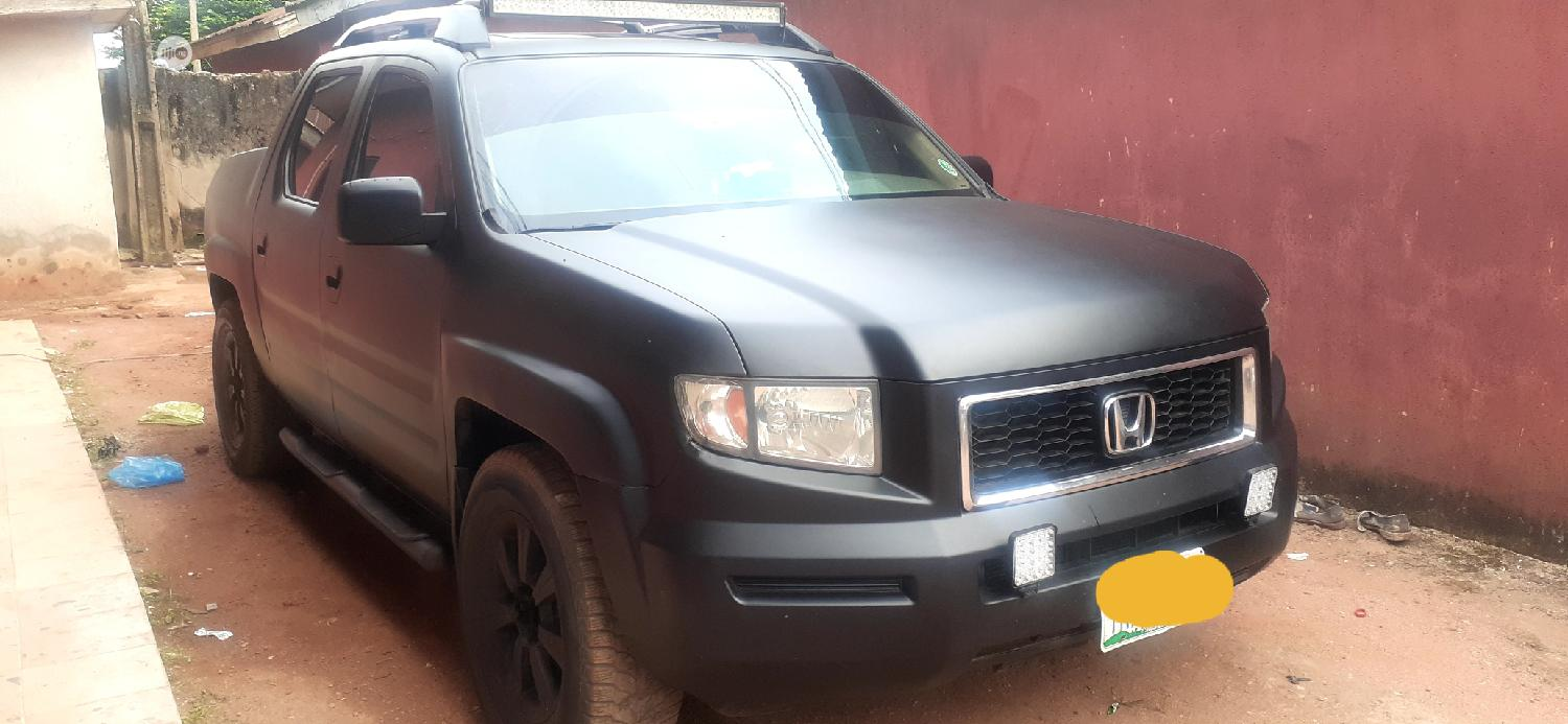 Honda Ridgeline 2006 RTL Black | Cars for sale in Lekki, Lagos State, Nigeria
