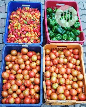 Fresh Pepper And Tomatoes   Meals & Drinks for sale in Lagos State, Ikorodu