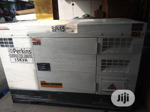 Original 15KVA PERKINS Soundproof Diesel Generator. | Electrical Equipment for sale in Lagos State, Ojo
