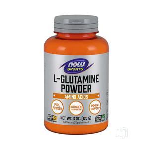 Now L-Glutamine Powder (Free Form), 170g | Vitamins & Supplements for sale in Lagos State, Lekki