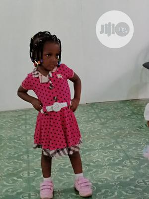 Girl Polkadot Pink Turke Gown   Children's Clothing for sale in Lagos State, Ikeja