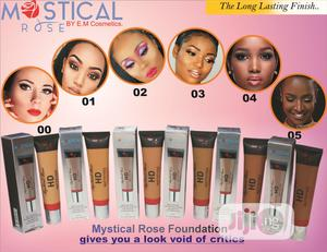Mystical Rose HD Matifying Powder With 24 Brushset | Makeup for sale in Anambra State, Awka