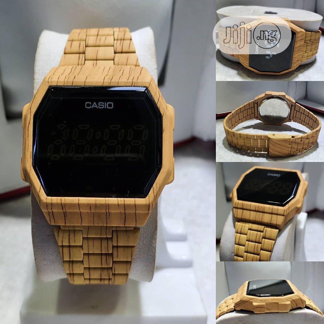 Archive: Digital Wooden Casio Watch