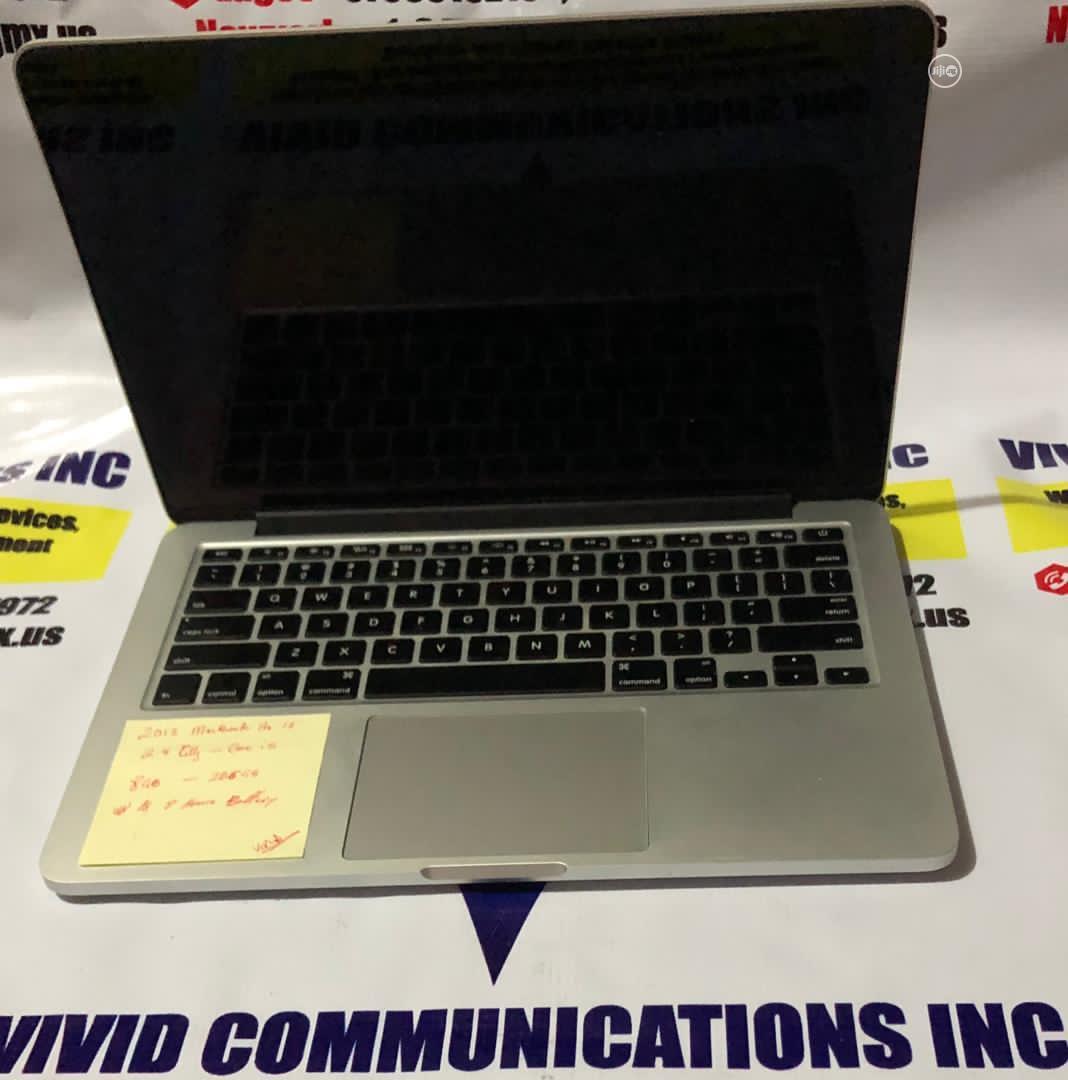 Laptop Apple MacBook Pro 2013 8GB Intel Core I5 SSD 256GB | Laptops & Computers for sale in Oluyole, Oyo State, Nigeria