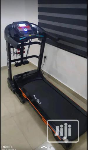 New Imported 2.5hp German Machine Treadmill With Massager   Sports Equipment for sale in Lagos State, Ogba