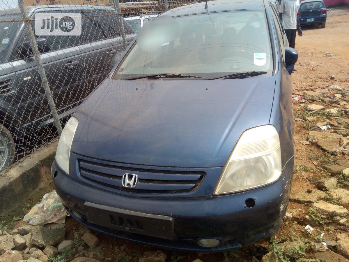 Honda Stream 2002 Blue | Cars for sale in Ifako-Ijaiye, Lagos State, Nigeria