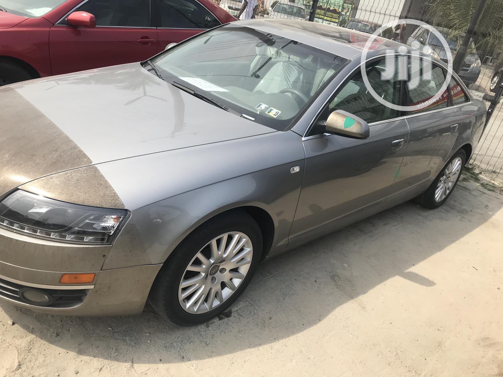 Audi A6 2006 3.2 FSI Silver | Cars for sale in Ajah, Lagos State, Nigeria