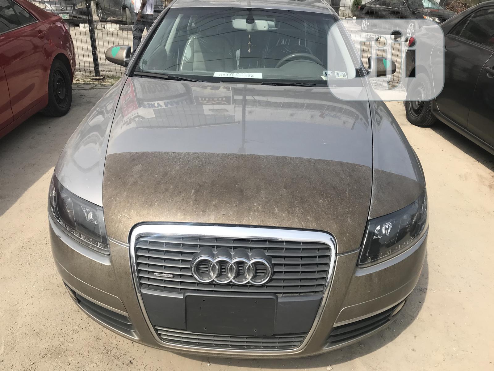 Audi A6 2006 3.2 FSI Silver
