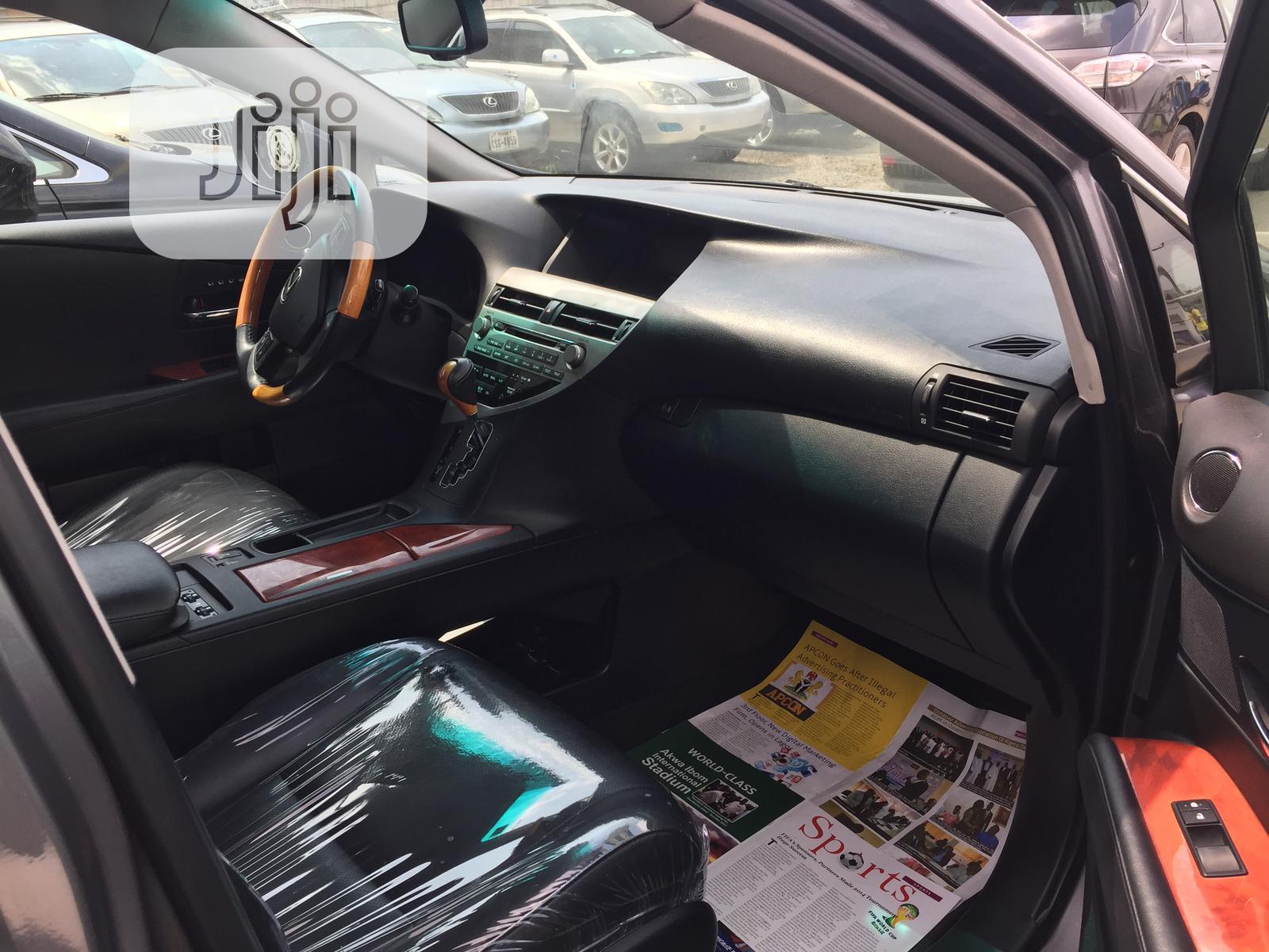 Archive: Lexus RX 2012 350 AWD Gray