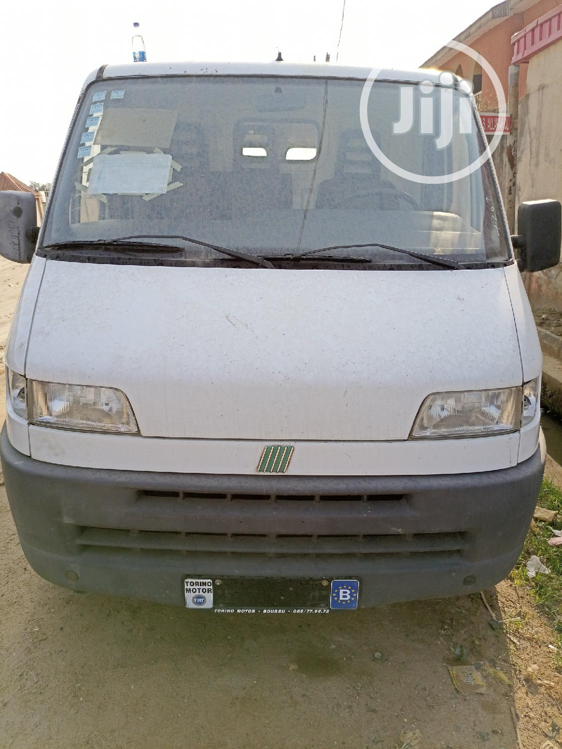 Super Clean Foreign Used Fiat Ducato Van 2003 White | Buses & Microbuses for sale in Amuwo-Odofin, Lagos State, Nigeria