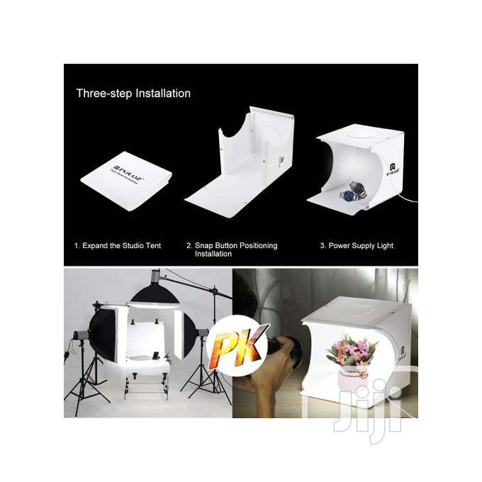 Puluz Light Lamp Pad 6 Background Studio Shooting Tent Box | Accessories & Supplies for Electronics for sale in Apapa, Lagos State, Nigeria