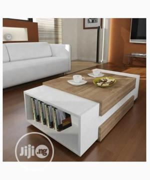 Multipurpose Center Table Coffee Table Chair With Book Shelf | Furniture for sale in Abuja (FCT) State, Mabushi