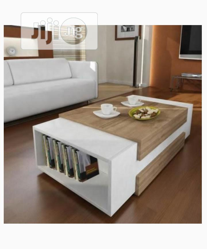Multipurpose Center Table Coffee Table Chair With Book Shelf