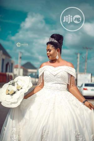 Lovely Wedding Gown   Wedding Wear & Accessories for sale in Abuja (FCT) State, Dutse-Alhaji
