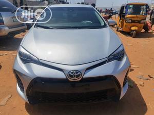 Toyota Corolla 2018 SE (1.8L 4cyl 2A) Silver | Cars for sale in Abuja (FCT) State, Garki 1