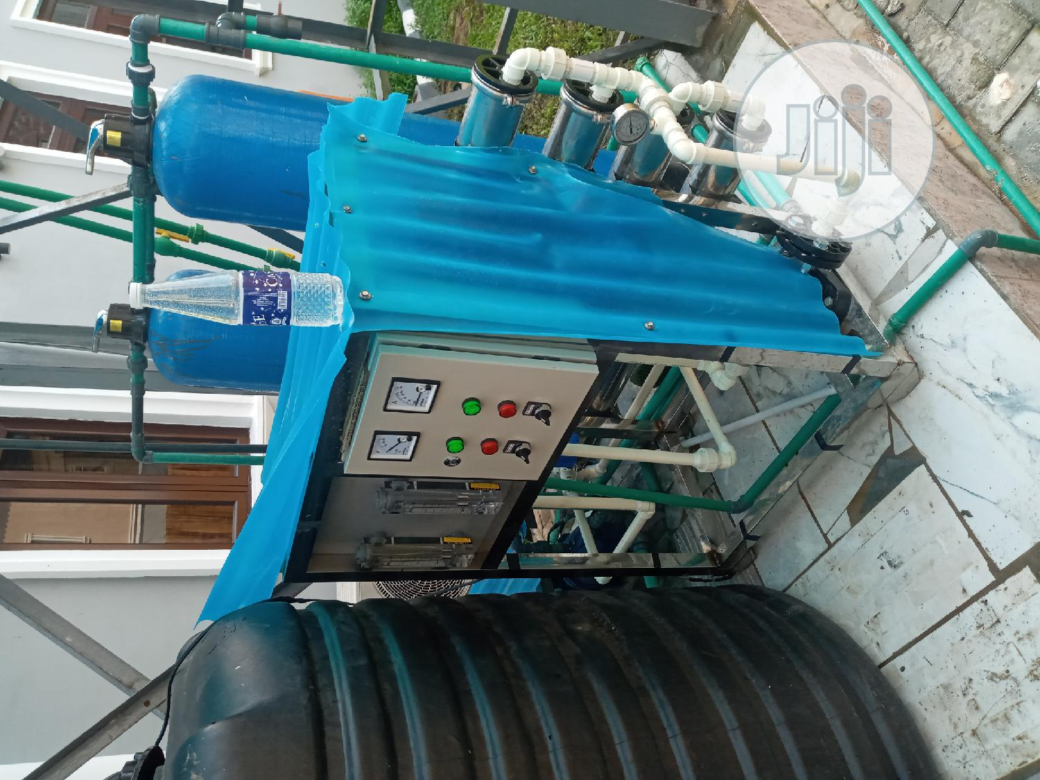 1000 Litres Per Hour Osmosis Machines Water Treatment Machi