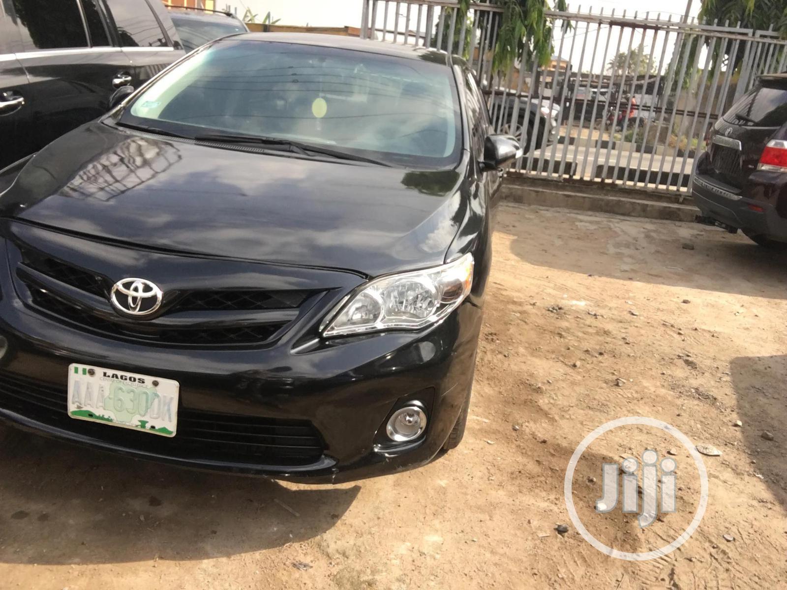 Toyota Corolla 2012 Black In Ikeja Cars Omobalo Autos Jiji Ng For Sale In Ikeja Omobalo Autos On Jiji Ng