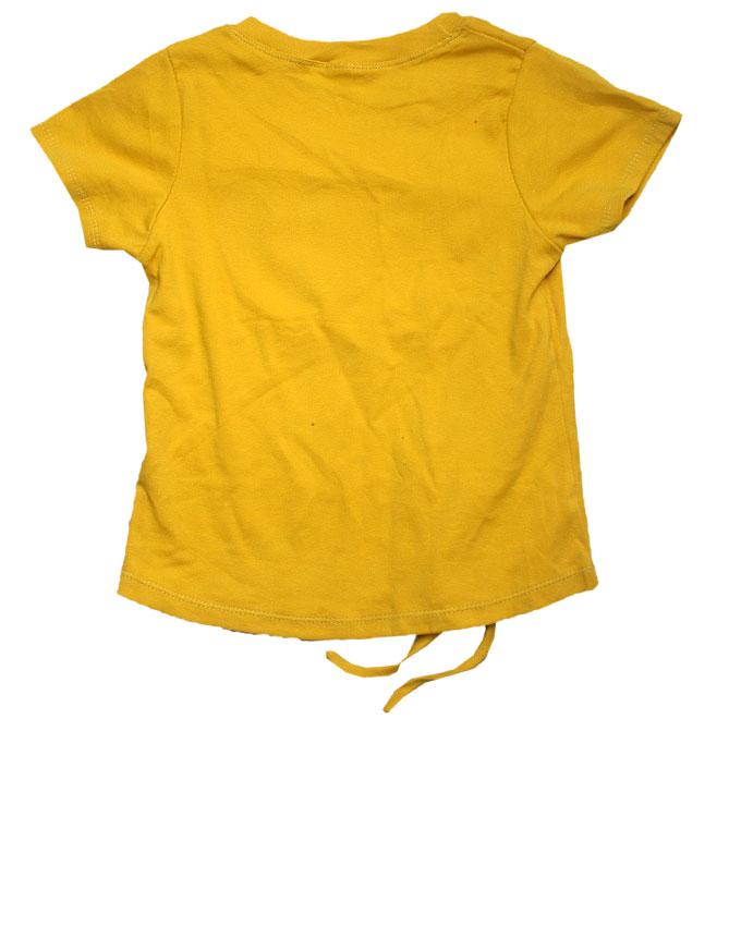 Girls Round Neck Top With Short Sleeve-Peach,Red,Yellow,Pink | Children's Clothing for sale in Ojota, Lagos State, Nigeria