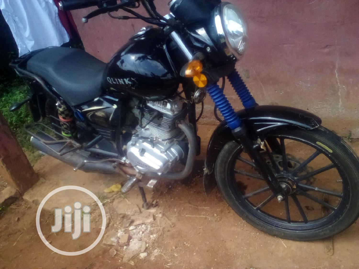 Qlink X-Ranger 200 2017 Black | Motorcycles & Scooters for sale in Benin City, Edo State, Nigeria